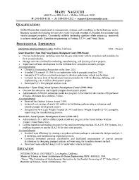 resume formats and examples for word