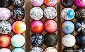 painted easter eggs diy painted easter egg ideas from hallmark artists think