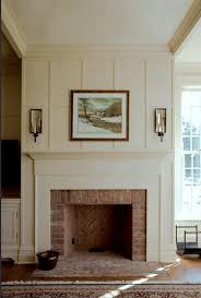 brick fireplace how to prep prime and paint a brick fireplace
