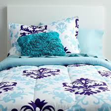 Seventeen Zebra Darling Bedroom Set Purple And Light Blue Twin Xl Comforter And Sheets Cute Designer
