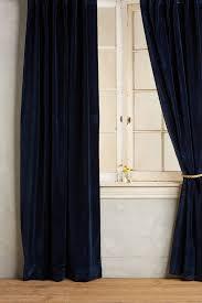 Navy Tab Top Curtains Curtain Blue Velvet Curtains Instacurtains Us Navy Tab Top