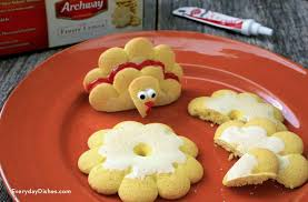 adorable thanksgiving turkey cookies recipe