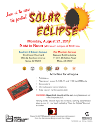 Mesa Arizona Map by Solar Eclipse Viewing Parties Press Release Mesa Community College