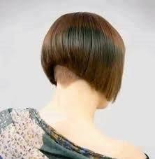 how to cut hair with a weight line bobbed hairstyles on pinterest bobs shaved nape and aline bob