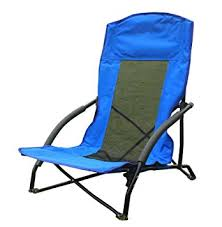funs portable low sling folding chair compact in a