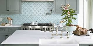 Kitchen Interiors Ocean Inspired Kitchen Urban Grace Interiors Kitchen