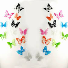 butterfly wall decals multicolor pvc wall stickers for tv wall 3d butterfly wall decals multicolor pvc wall stickers for tv wall kids bedroom wall home house decoration
