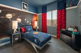 cool bedroom decor idea for little boy with exquisite solar system