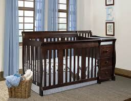 Baby Cribs With Changing Table Attached Baby Cribs And Changing Table Combo Oo Tray Design Simply Baby