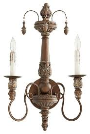 Monkey Sconces Quorum Salento 2 Light Wall Sconce Traditional Wall Sconces