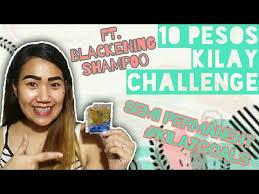 10 pesos kilay challenge ft blackening shampoo for semi permanent