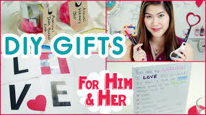 diy anniversary gifts or valentine u0027s day gifts for him or her