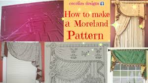 Valance Designs How To Make Moreland Pattern Youtube