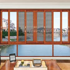 Awning Window Fly Screen Double Panel Silding Aluminum Windows And Doors With Fly Screen