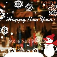 New Years Eve Window Decorations by Stickers Office Picture More Detailed Picture About Wall