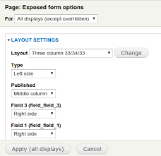 views exposed form layout drupal org