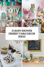 baby shower centerpieces ideas for boys 31 baby shower dessert table décor ideas digsdigs