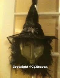 Halloween Decorations Using Milk Jugs - three sister witches gallon milk jug black trash bag dollar