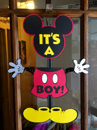mickey mouse baby shower minnie mickey gender reveal baby shower mickey banner minnie
