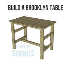 free plans to build a bolt side table woodworking pinterest