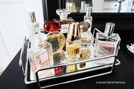 Makeup Vanity Tray Bath Organization U0026 You Tube Launch A Bowl Full Of Lemons