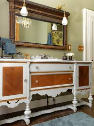 vintage bathroom storage ideas bathroom vintage bathroom vanities hgtv repurposed vanity ideas