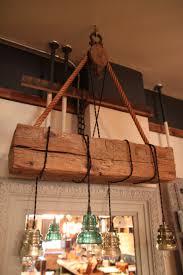 Hanging Edison Bulb Chandelier Hand Hewn Barn Beam With Hanging Vintage Insulators Vintage