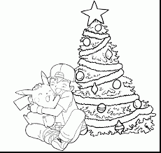 printable pokemon christmas coloring pages throughout pokemon