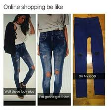 Funny Memes Online - online shopping reality