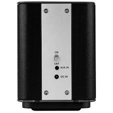 dayton audio aero wi fi bluetooth speaker with ir remote control black