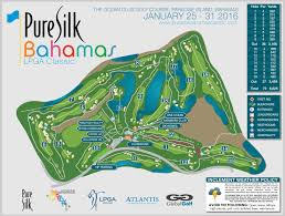 Map Bahamas Overview Lpga Ladies Professional Golf Association