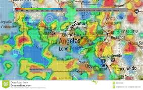 Map Southern California Satellite Weather Map California California Map