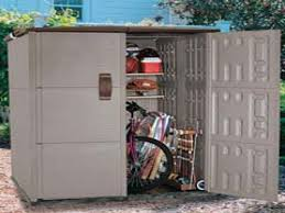 Rubbermaid Vertical Storage Shed 3746 by Outside Storage Shed Lifetime 125u0027 X 8u0027 Outdoor Storage