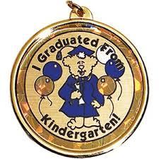 graduation medallion kindergarten graduation awards