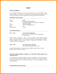 resume format for project engineer graduate resume format resume format and resume maker graduate resume format sample resume format for fresh graduates one page format resume format for fresh