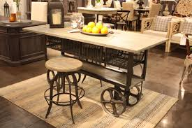 industrial decor what it is and how it s done in industrial home accents wheeled island industrial design