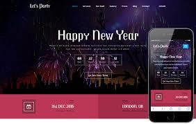 lets party an entertainment category bootstrap responsive web template