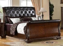 Solid Wood Sleigh Bed Solid Wood Sleigh Bed Ideas Vine Dine King Bed Solid Wood