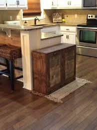 kitchen island with garbage bin kitchen amazing wooden trash bins for kitchen wooden trash