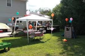 backyard party canopies home outdoor decoration
