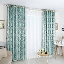 Turquoise Living Room Curtains Online Get Cheap Green Striped Curtains Aliexpress Com Alibaba