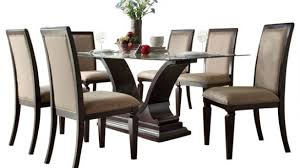 7 Pc Dining Room Sets Interior Kasari 7 Pc Dining Set Oak Gray Raymour Flanigan