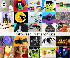 halloween crafts for preschool halloween monster crafts and treats the idea room