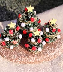 kids u0027 craft pine cone christmas tree village decoration