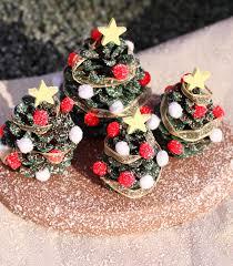 kids u0027 craft pine cone christmas tree village decoration i dig