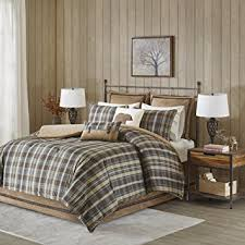 Twin Plaid Comforter Amazon Com Woolrich Hadley Plaid Comforter Set Twin Multicolor
