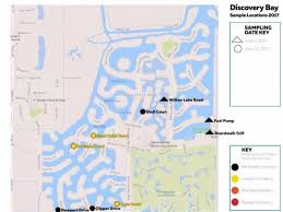concord california map algae in discovery bay prompts health advisory for residents pets