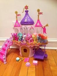 mlp wedding castle hasbro my pony ponyville popcorn theater playset