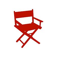 chaise de cinéma découpe papier cartonné chaise cinéma boutique scrapbooking