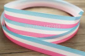 blue and white striped ribbon popular pink blue white striped ribbon buy cheap pink blue white